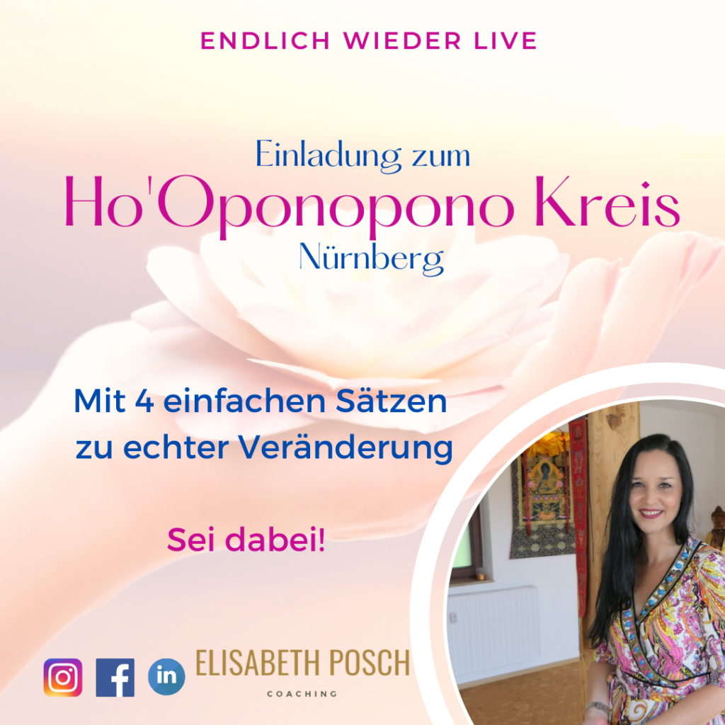 Ho' Oponopono Kreis Nürnberg Einladung